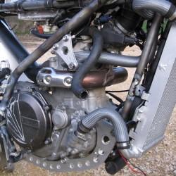 Détail moteur et platines