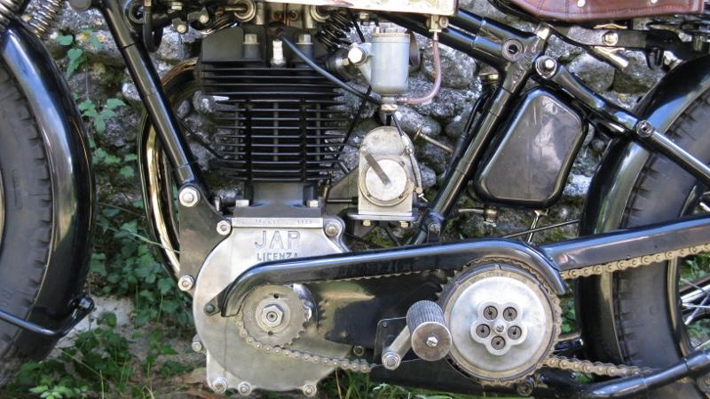 Détail moteur / boite