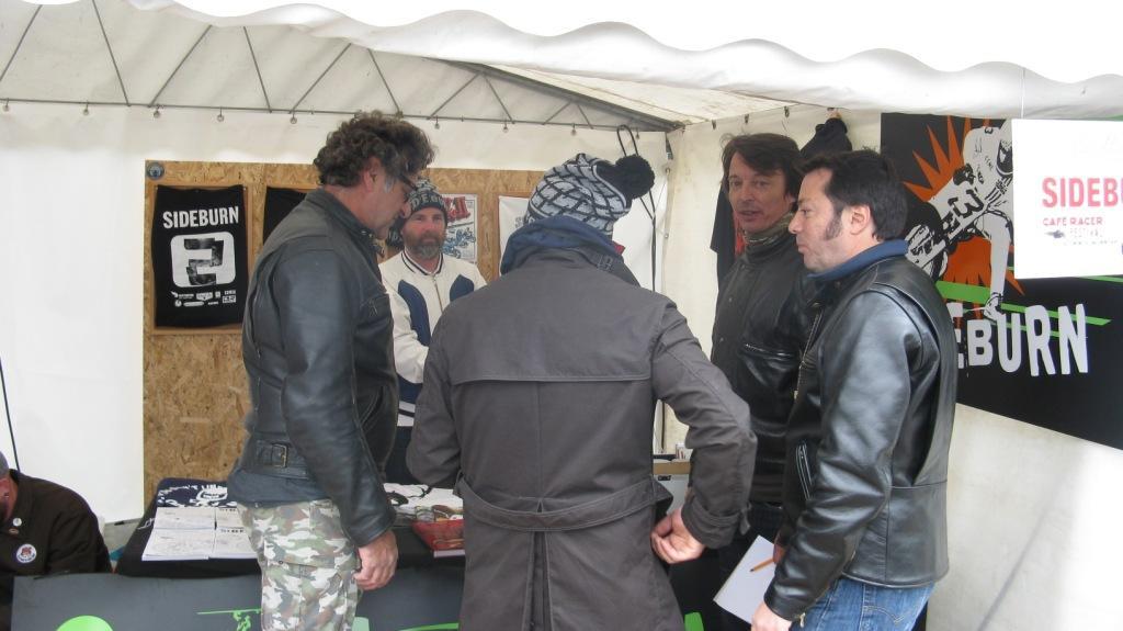 Albin et Bertrand Bussillet chez SIDEBURN