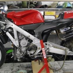 Nouvelle roue pour la Bimota V due