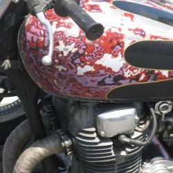 La moto de Mathieu Damiens